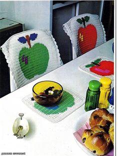 Фруктовые накидки на стулья и подложки для кухни. Комментарии : LiveInternet - Российский Сервис Онлайн-Дневников