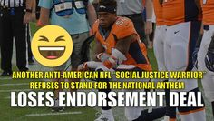 The NFL has become a group of weepy social justice warriors who are more…