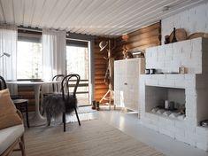 Divider, Loft, Cottage, Cabin, Bed, Interior, Kitchen, House, Furniture