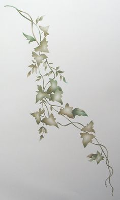 Freestyle Ivy Wall Stencil Painting Stencil by Victorysprings, $24.99