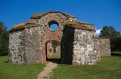 Kirkon rauniot Vaasa