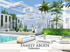 Family Abode by Pralinesims at TSR via Sims 4 Updates