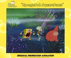 Hand Painted SpongeBob SquarePants Production Cel from episode SB-129 #5364 Free Shipping Cont USA @ niftywarehouse.com #NiftyWarehouse #Spongebob #SpongebobSquarepants #Cartoon #TV #Show