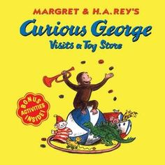 Curious George Visits a Toy Store, Margret & H.A. Rey's  #OnlineShopping  #KidsBooks  #ChildrensBooks