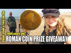 Digger Dawn & Twig the Dig - ROMAN COIN PRIZE GIVE AWAY (Sept 16) Prize Giveaway, Metal Detecting, Digger, Twiggy, Dawn, Roman, Coins, Rooms
