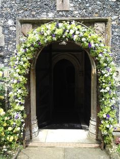 Lime Green & Purple Archway