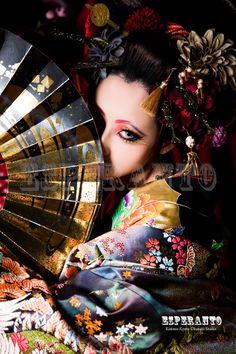 花魁体験 Oriental Dress, Oriental Fashion, Asian Fashion, Geisha Makeup, Geisha Art, Japanese Kimono, Japanese Girl, Pantalon Thai, Art Visage