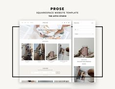 Prose - Squarespace Template, Squarespace Theme, Squarespace kit, Simple Blog, Modern Website, Elegant Website, Squarespace Web, Blog Theme Blog Design, Web Design, Branding Template, Modern Website, Simple Blog, Web Themes, Lightroom Presets, Website Template, Creative Gifts