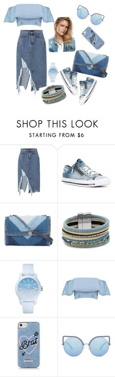 """""""Time for denim"""" by joannagrece ❤ liked on Polyvore featuring Diesel, STELLA McCARTNEY, Design Lab, Lacoste, Skinnydip and Matthew Williamson"""