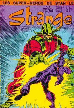 Strange 5 de Lug avec les X-Men, Daredevil, Iron Man et le Surfer d'Argent