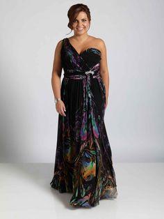 Muted Kaleidoscope Dress // Plus Size Dresses Plus Size Cocktail Dresses, Plus Size Party Dresses, Plus Size Gowns, Dress Plus Size, Evening Dresses Plus Size, Plus Size Outfits, Evening Gowns, Curvy Fashion, Plus Size Fashion