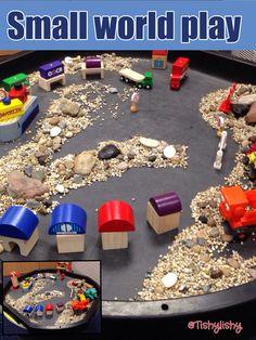 Transport small world play.