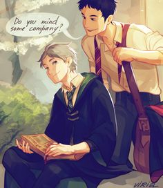 crossover: haikyuu! & harry potter