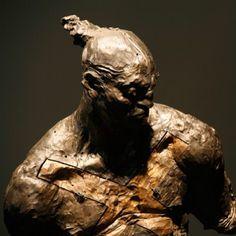 #javiermarinescultor, #javiermarin, #terrenobaldioarte, #torsodehombre, #escultura, #sculpture, #bronce, #bronze, #hombre, #man, #art.