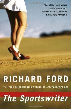 The Sportswriter: Bascombe Trilogy (1) by Richard Ford, http://www.amazon.com/dp/0679762108/ref=cm_sw_r_pi_dp_4ioyqb01HV20F
