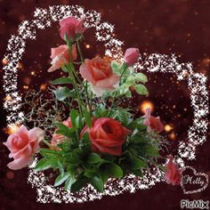 See the PicMix Melly belonging to on PicMix. Beautiful Love Pictures, Romantic Pictures, Beautiful Gif, Love Images, Flowers Gif, Beautiful Rose Flowers, Gif Bonito, Valentines Gif, Beau Gif