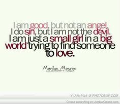 I love her words