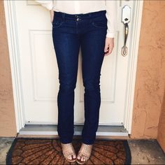 Nordstrom Vigoss Studio NY Skinny Jean Thick topstitching traces the edges and brands the back pockets of statement-making skinny jeans cut from faded stretch denim for an added dose of attitude. Vigoss Jeans Skinny