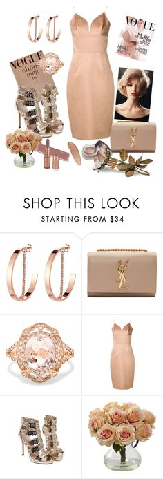 """Untitled #381"" by csfshawn on Polyvore featuring Jenny Bird, Yves Saint Laurent, Effy Jewelry and Christian Siriano"