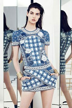 {fashion inspiration | runway : balmain resort 2014}