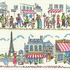 Paris Ville by Michael Miller Fabrics: Arts, Crafts & Sewing