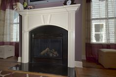 Cypress Nicole Fireplace