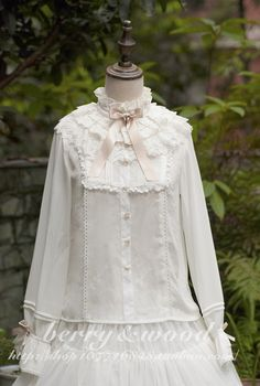 New 2-way blouse reservation from Berry&wood - Peacefulworld