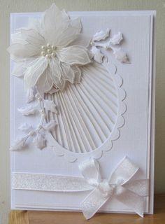 Floral Fantasies: White on White