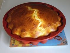 Gâteau léger au fromage blanc et aux pommes