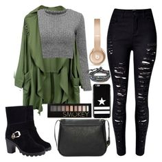 """""""Untitled #1529"""" by anarita11 ❤ liked on Polyvore featuring Givenchy, Forever 21, AeraVida, Beats by Dr. Dre, women's clothing, women, female, woman, misses and juniors"""