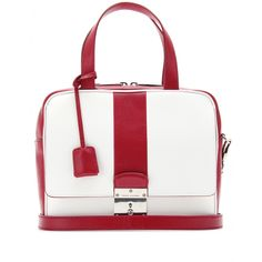 mytheresa.com - Marc Jacobs - THE DOMINO LEATHER HANDBAG - Luxury Fashion for Women / Designer clothing, shoes, bags