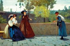 Image result for silvestro lega paintings