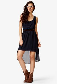 I hate dresses, but I need to find one for my leadership conference thing next January :/ this one you can at least wear boots with and its not too girly...