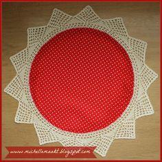 Doily dots! Vintage crochet