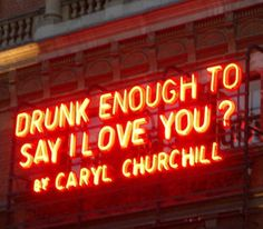 Good one by #CarylChurchill