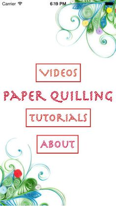 Learning Paper Quilling on the App Store on iTunes