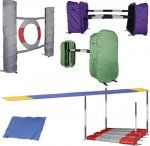 Dog agility kits...seriously need to buy this!