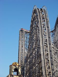 Roller Coaster at Six Flags Great Adventure