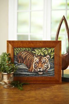 Ever wanted to own a big cat? Us too! That's why we asked Jayne Netley Mayhew to design us this terrific tiger cross stitch for the December 230 issue of CSC: http://www.myfavouritemagazines.co.uk/stitch-craft/cross-stitch-collection-magazine-back-issues/cross-stitch-collection-december-13/