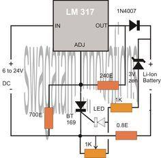 Simplest, Safest Li-Ion Battery Charger