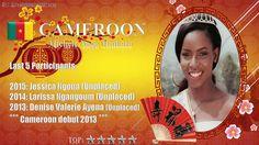 Michele Ange Milkata Miss World 2017 contestant banner Cameroon