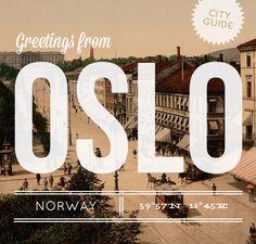 Oslo City Guide. I love Oslo!!