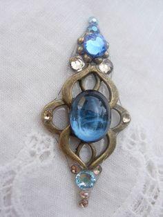 Autumn Sky Bindi  swarovski crystal tribal belly by KuhlJewels, $18.00
