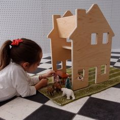 Coolest Kids' Furniture and Decor 2013: Paloma's Nest dollhouse chairs | Cool Mom Picks