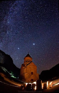Armenia - there are more stars in the sky than grains of sand on earth.