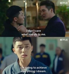 The New KDrama Itaewon Class is airing on January starring Park Seo Joon and Kim Da Mi Quotes Drama Korea, Korea Quotes, Korean Drama Quotes, New Korean Drama, Korean Drama Funny, Korean Dramas, Class Memes, Class Quotes, Cinema Quotes