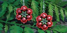 Vlčí máky Diy Jewelry, Jewelry Making, Flora, Beads, Handmade, Wire, Earrings, Beading, Ear Rings