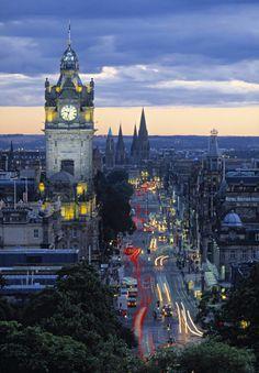 Ciudades Internacionales: Edimburgo