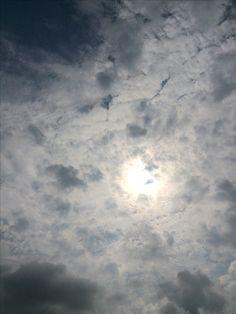 2017년 7월 30일의 하늘 #sky #cloud #sun