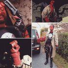 [Self] Went as Hellboy for halloween 2016